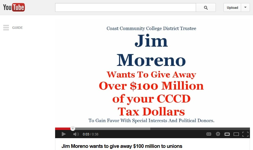 Jim Moreno Lied To OC Taxpayers About Discriminating Against Non-Union Workers