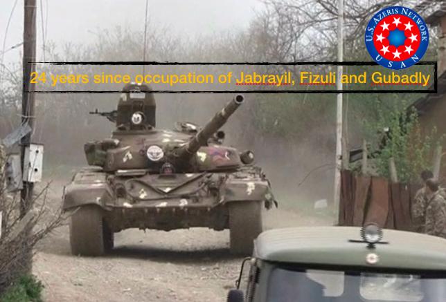 Occupation of Fizuli, Jabrayil and Gubadly
