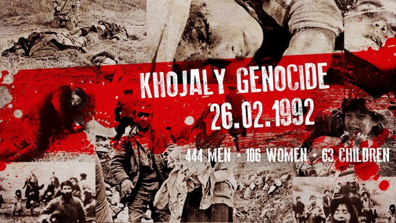 Join to commemorate 26th anniversary of Khojaly Massacre