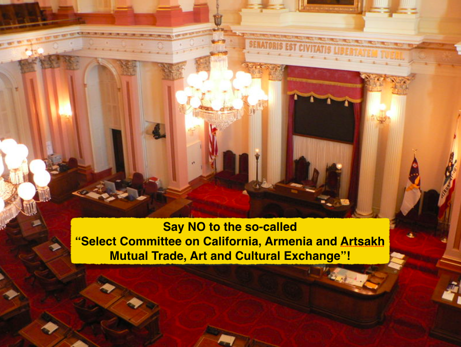 Denounce pro-Armenian committee on trade with occupied Karabakh