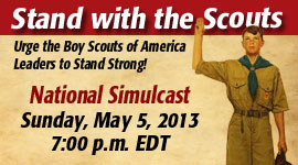 Stand with Scouts Sunday