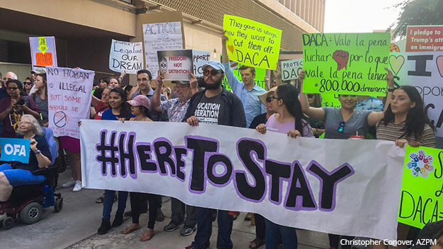 Tucson Sept. 5, 2017, Christopher Conover, AZPM