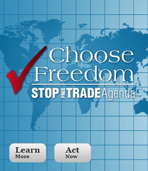 Keep America Independent: Stop Trade Promotion Authority