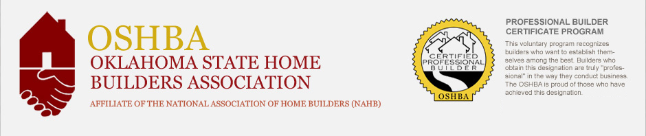 Back to the Oklahoma State Home Builders Home Page