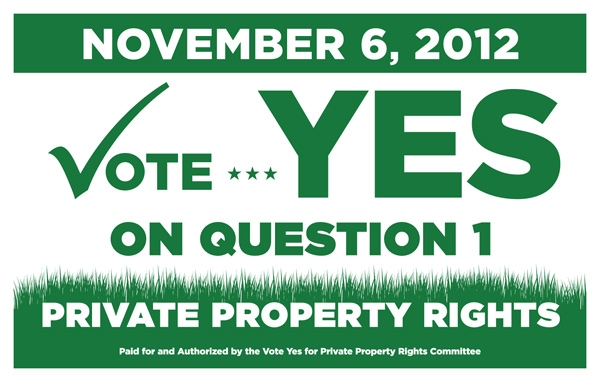 constitutional rights property rights and private