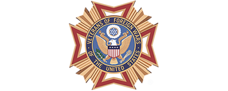 The official seal of the Veterans of Foreign Wars of the U.S.